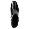 Lakované dámske čižmy gabor, čierna, 618-6002 - 26