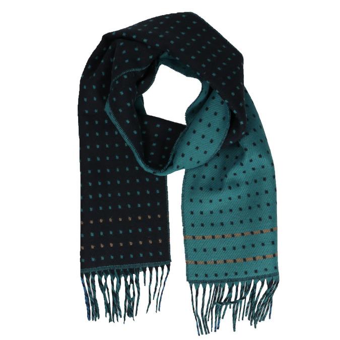 Pánsky šál so vzorom bata, modrá, 909-9621 - 13