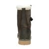 Dámska zimná obuv s kožúškom weinbrenner, šedá, 594-2455 - 16