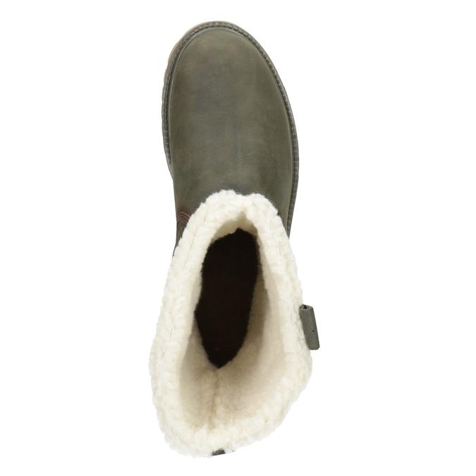 Dámska zimná obuv s kožúškom weinbrenner, 594-2455 - 15