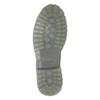 Pánska kožená obuv s výraznou podrážkou weinbrenner, šedá, 896-2702 - 17