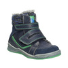 Detská zimná obuv so zateplením bubblegummers, modrá, 114-9611 - 13