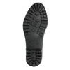 Dámske gumáky s prešívaním bata, čierna, 592-6401 - 19