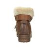 Členková obuv s kožúškom bata, hnedá, 591-4618 - 17