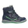 Detská zimná obuv so zateplením bubblegummers, modrá, 114-9611 - 15