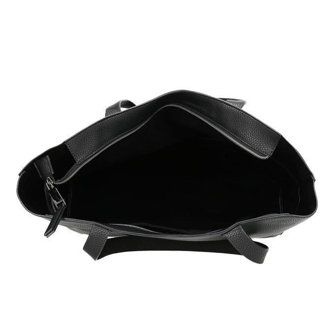 Dámska Shopper kabelka bata, čierna, 961-6820 - 15