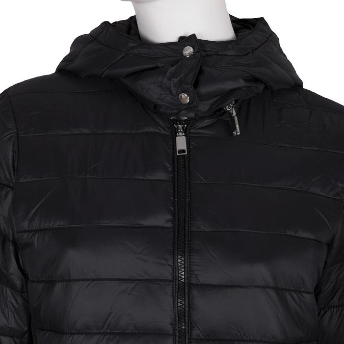 Dámska bunda s kapucou bata, čierna, 979-6159 - 16