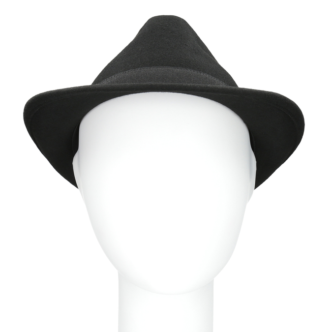 Čierny klobúk bata, čierna, 909-6674 - 16