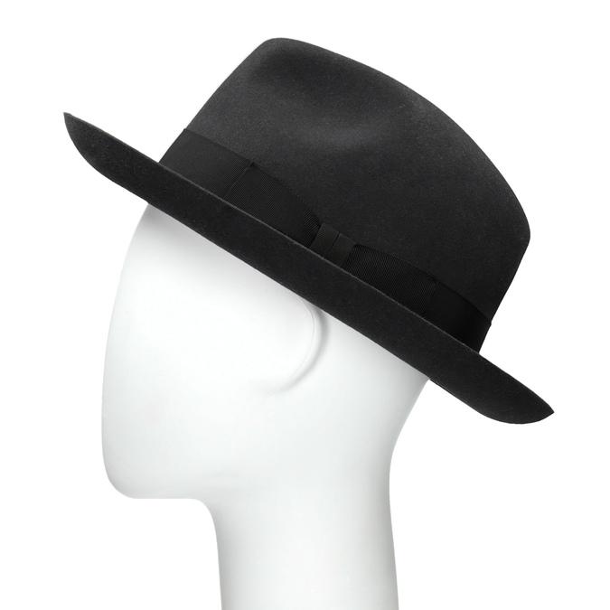 0b63b008b Čierny pánsky klobúk tonak, šedá, 909-2646 - 26