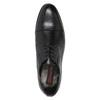 Pánske kožené Derby poltopánky conhpol, čierna, 824-6990 - 15