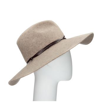 Dámsky vlnený klobúk tonak, béžová, 909-8652 - 13