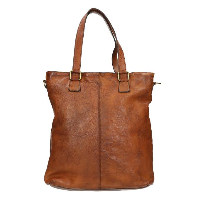 Kožená dámska kabelka bata, hnedá, 964-3245 - 26