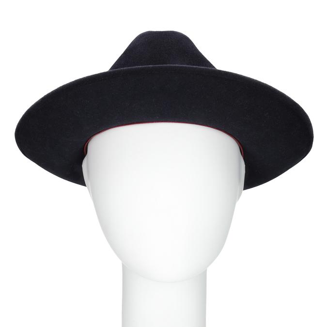 Tmavo modrý klobúk tonak, modrá, 909-9653 - 16