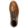 Hnedá kožená zimná obuv bata, hnedá, 896-4667 - 26