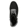 Členková obuv na masivnom podpätku bata, čierna, 699-6633 - 26