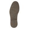 Kožená členková obuv so zateplením bata, hnedá, 896-4662 - 19