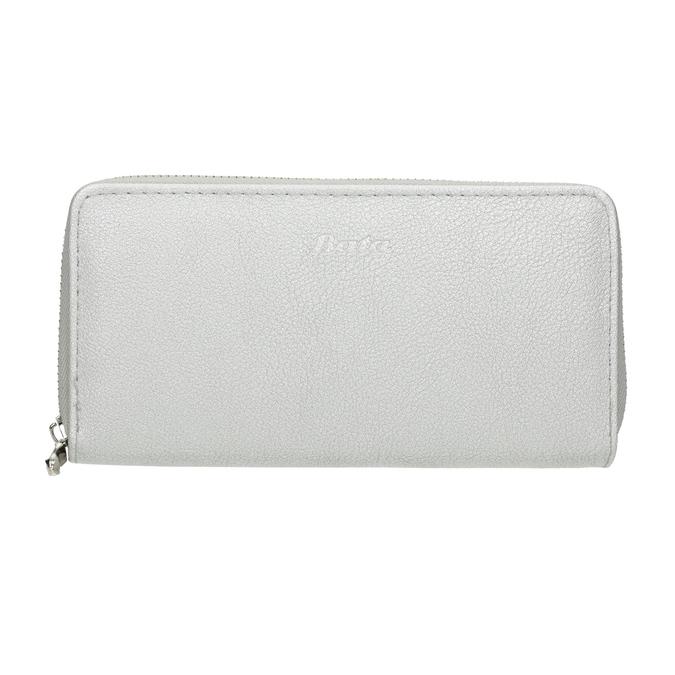 Strieborná dámska peňaženka bata, strieborná, 941-2155 - 26