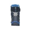 Detská zimná obuv na suchý zips mini-b, modrá, 491-9653 - 15
