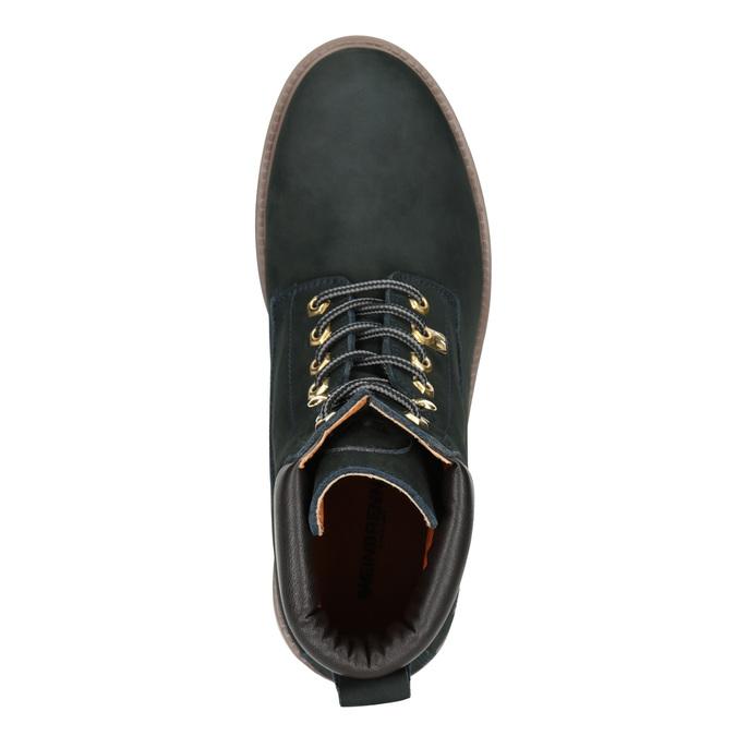 Členková obuv s masívnou podrážkou weinbrenner, modrá, 896-9669 - 15