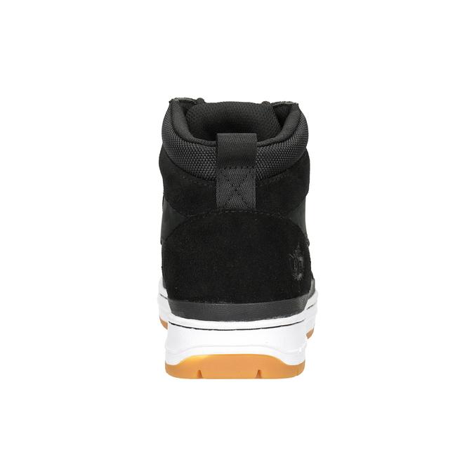 Kožená členková pánska obuv k1x, čierna, 806-6552 - 16