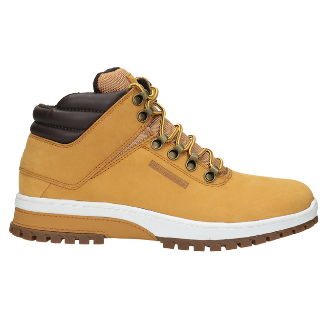 Kožená pánska zimná obuv k1x, hnedá, 806-3495 - 26