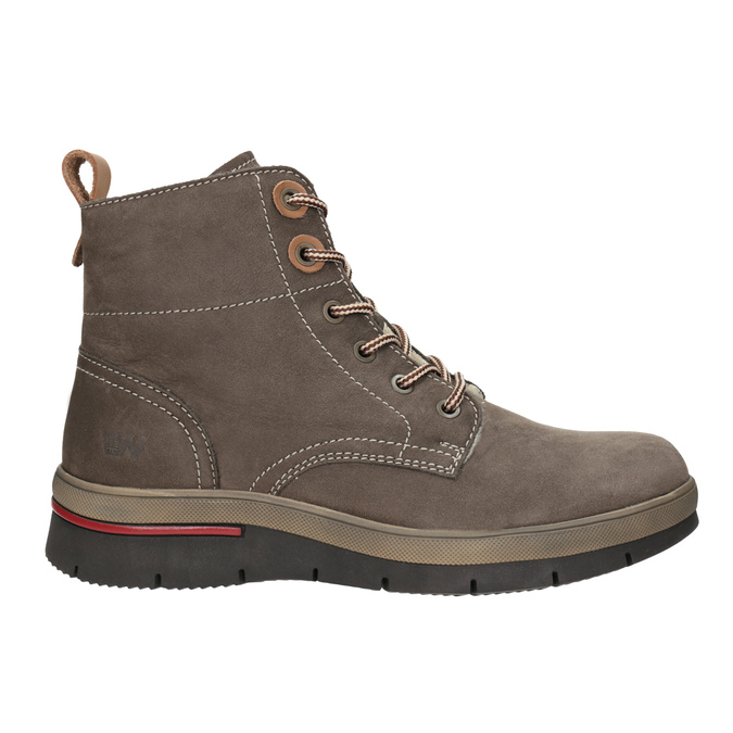 Kožená dámska zimná obuv weinbrenner, hnedá, 596-4666 - 26