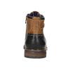 Členková kožená obuv bata, hnedá, 896-3680 - 17