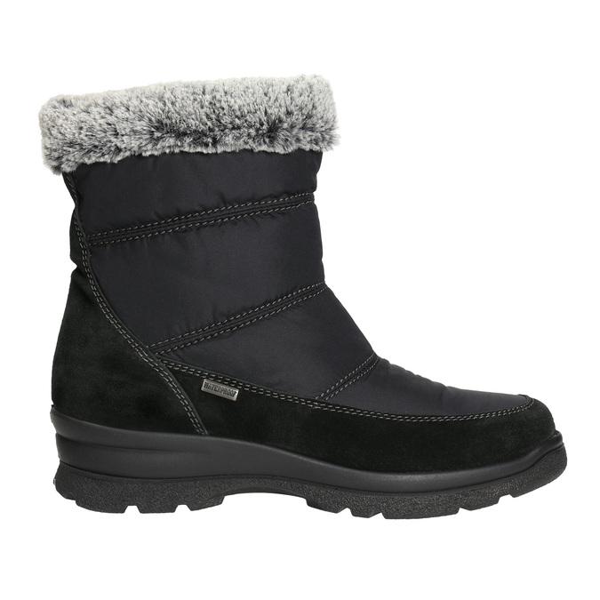 Dámske zimné snehule comfit, čierna, 599-6618 - 15