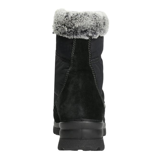Dámske zimné snehule comfit, čierna, 599-6618 - 17