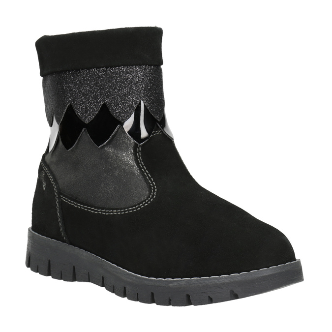 Detská zimná obuv primigi, čierna, 423-6005 - 13