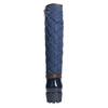Modré dámske čižmy bata, modrá, 592-9402 - 16