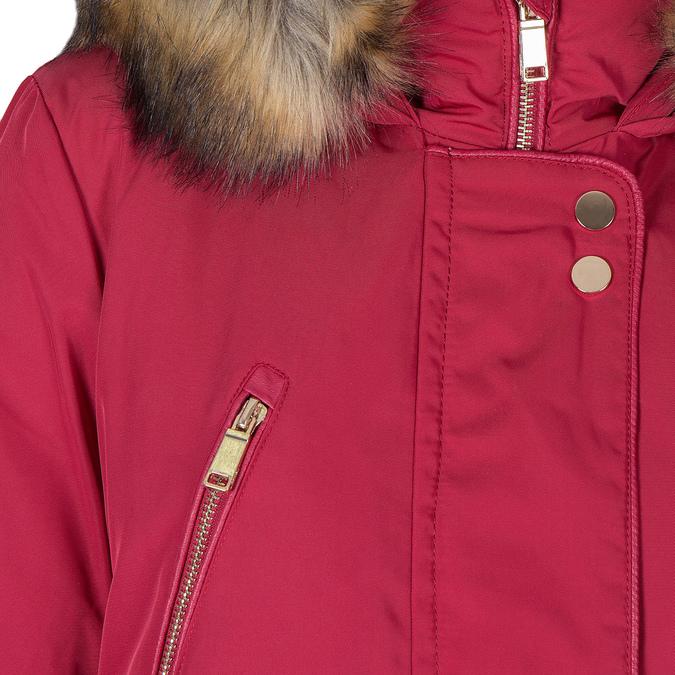 Červená dámska bunda s kapucou bata, červená, 979-5177 - 16