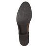 Hnedé kožené čižmy bata, hnedá, 596-4665 - 19