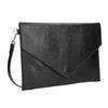 Dámska kožená listová kabelka bata, čierna, 964-6193 - 13