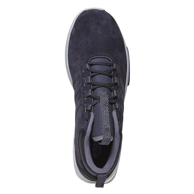 Kožené pánske tenisky adidas, čierna, 803-6202 - 19
