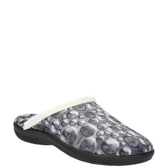 Dámska domáca obuv šedá bata, šedá, 579-2622 - 13