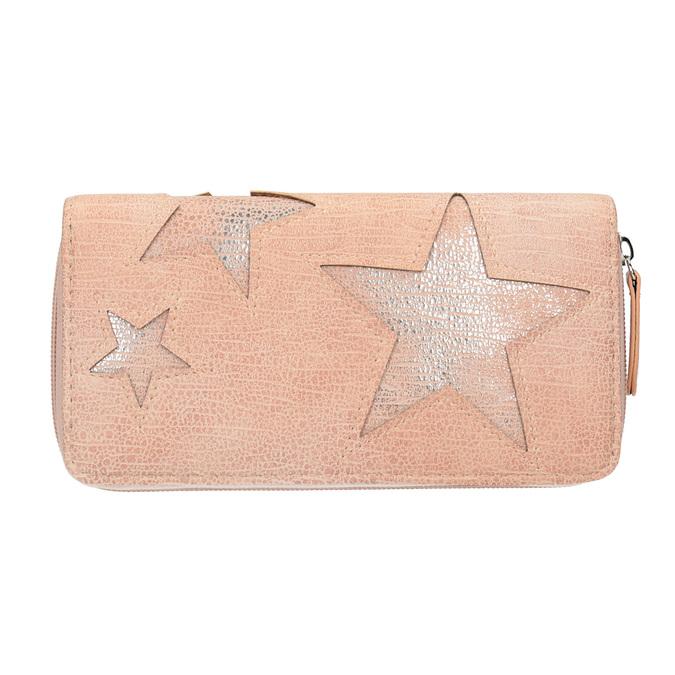 Ružová peňaženka s hviezdami bata, ružová, 941-5154 - 26