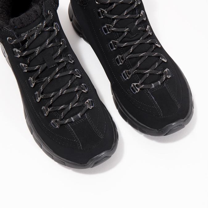 Dámska členková obuv skechers, čierna, 501-6314 - 18