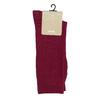Pánske vínové ponožky bata, červená, 919-5302 - 13