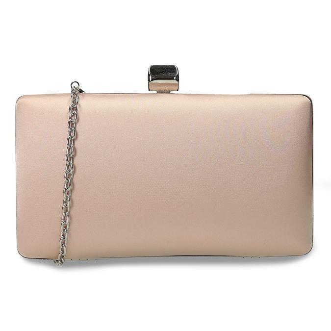 Krémová listová kabelka s retiazkou bata, 969-8671 - 16