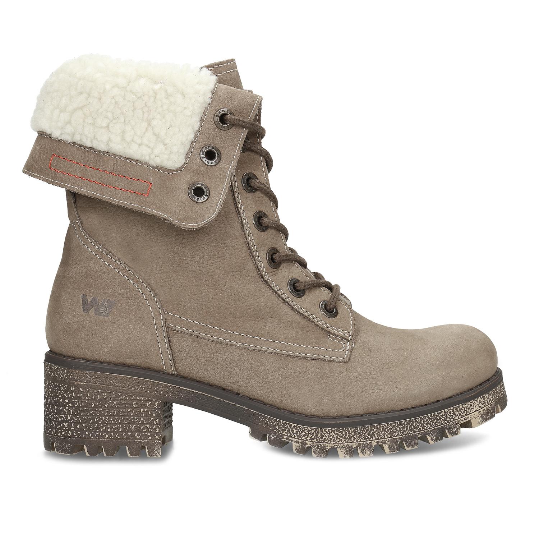 d5db2c91811a0 ... Kožená dámska zimná obuv weinbrenner, hnedá, 696-4336 - 19 ...