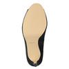 Lodičky s otvorenou špičkou bata, čierna, 729-6610 - 17