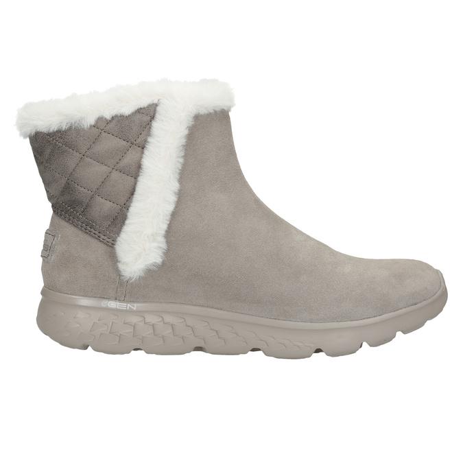 Dámska obuv z brúsenej kože skechers, 503-3326 - 16