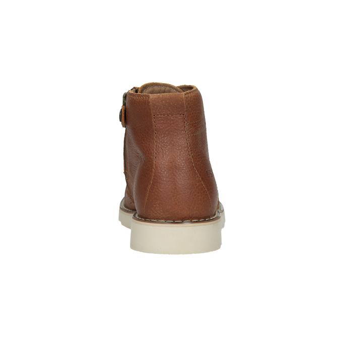 Detská kožená členková obuv primigi, hnedá, 314-3004 - 15