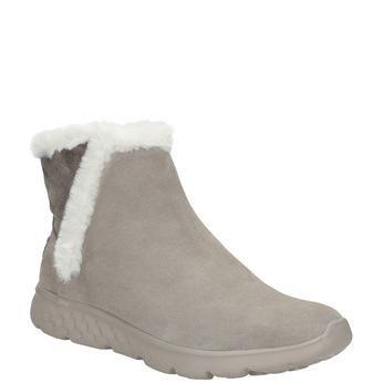 Dámska obuv z brúsenej kože skechers, 503-3326 - 13