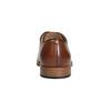 Pánske kožené poltopánky na silnějšej podrážke bata, hnedá, 826-3809 - 15