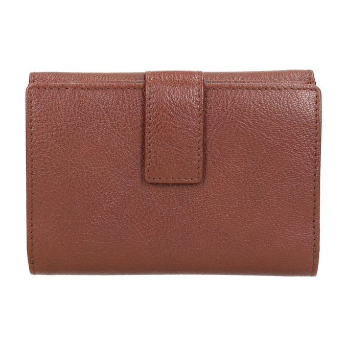 Dámska kožená peňaženka bata, hnedá, 944-4189 - 16