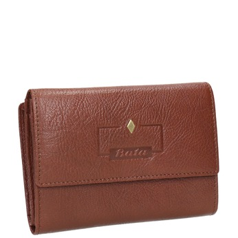 Dámska kožená peňaženka bata, hnedá, 944-4189 - 13