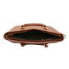 Hnedá kabelka s odnímateľným popruhom bata, hnedá, 961-3845 - 15