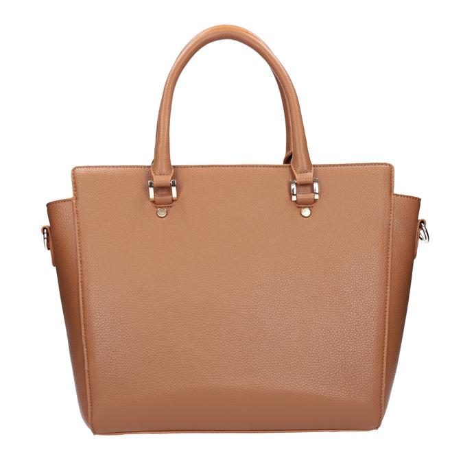 Hnedá kabelka s odnímateľným popruhom bata, hnedá, 961-3845 - 26